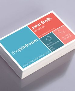 Colour Single-Sided Business Cards