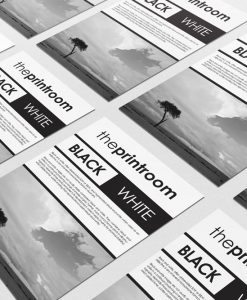 Black & White Single-Sided Flyers