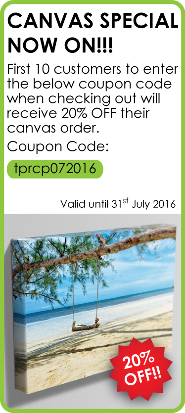 July Canvas Special
